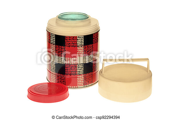 Old thermos - csp92294394