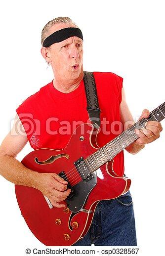 Old Time Rocker 3 - csp0328567