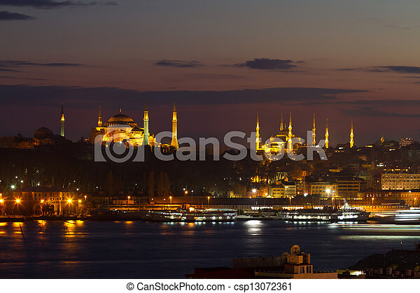 Old Town of Istanbul, Turkey - csp13072361