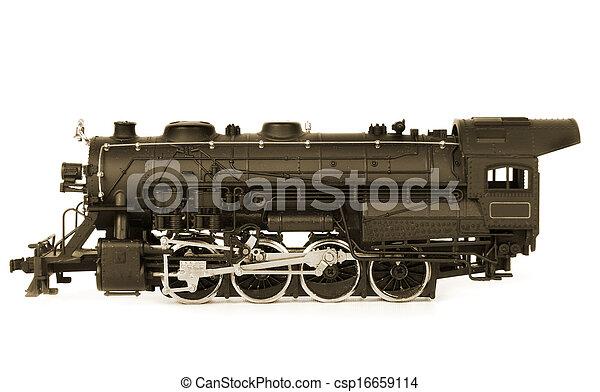 old train - csp16659114