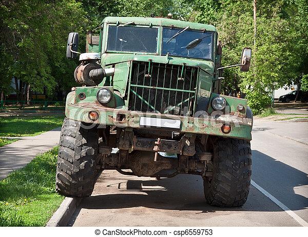 Old truck - csp6559753