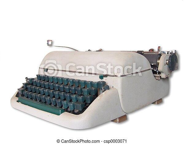 Old Typewriter - csp0003071