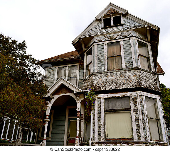 Old Victorian Style Home - csp11333622