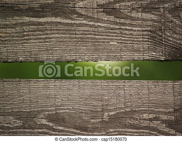 Old village fence - csp15180070