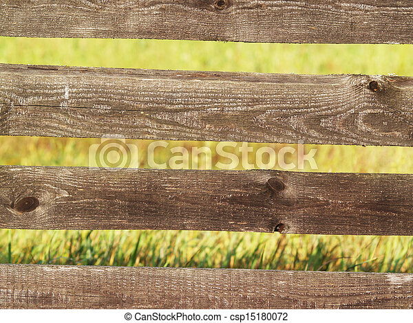 Old village fence - csp15180072