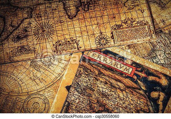 Old vintage ancient maps travel geography navigation concept old vintage ancient maps csp30558060 gumiabroncs Image collections