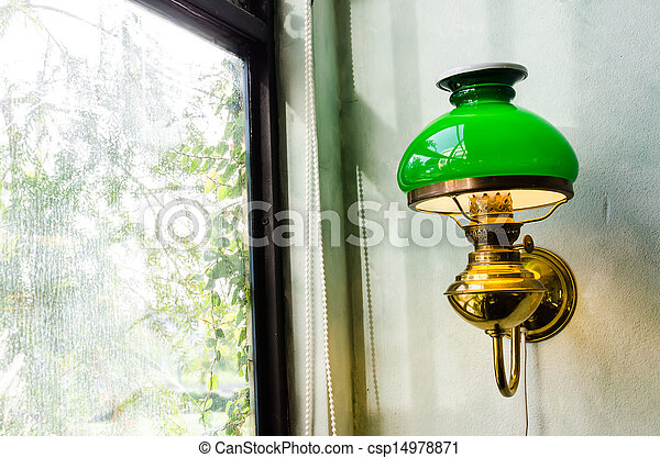 Old vintage lamp - csp14978871