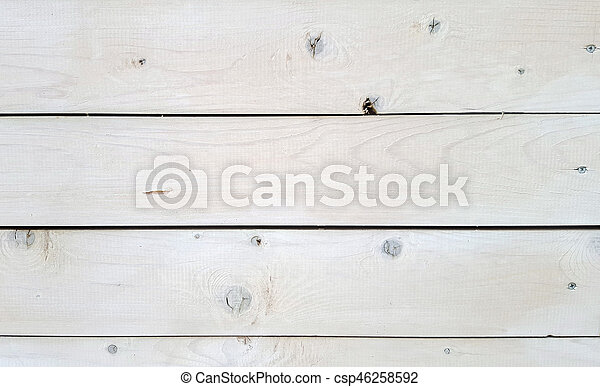 Old Vintage White Wood