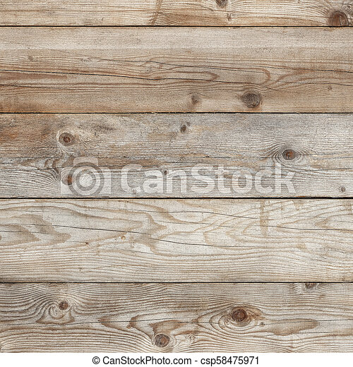 Old wall wood background square format - csp58475971