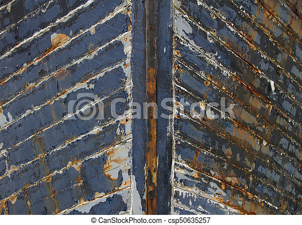 Old Weathered Boat - csp50635257