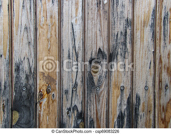 old weathered grunge wooden boards background - csp69083226