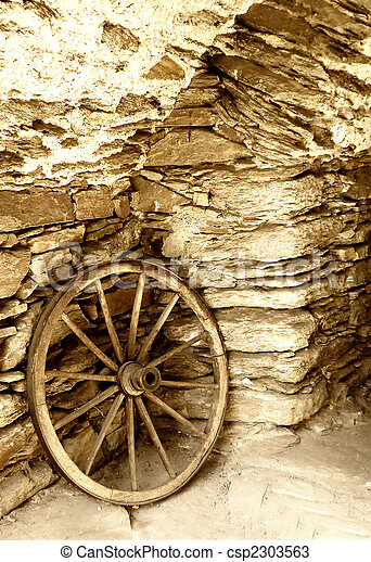 Old castle detail of an old wheel stock photos search old wheel csp2303563 publicscrutiny Choice Image
