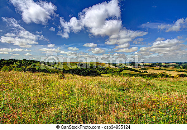 Old Winchester Hill - csp34935124