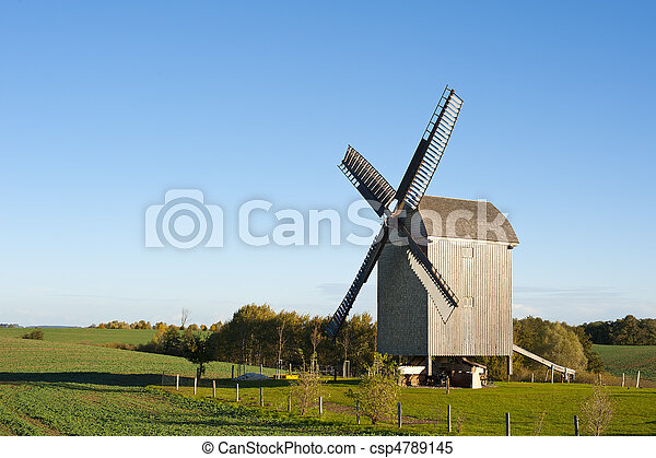 Old Windmill In Germany - csp4789145