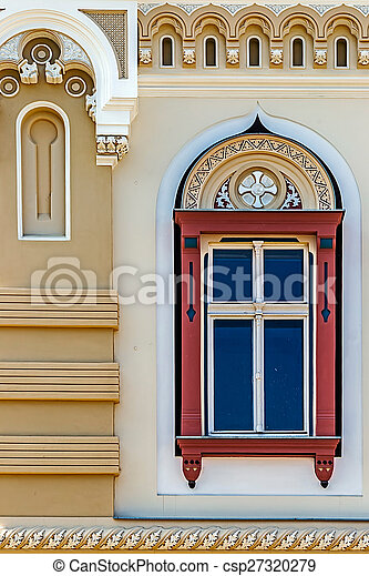 Old window from Timisoara, Romania 2 - csp27320279