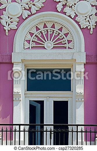 Old window from Timisoara, Romania - csp27320285