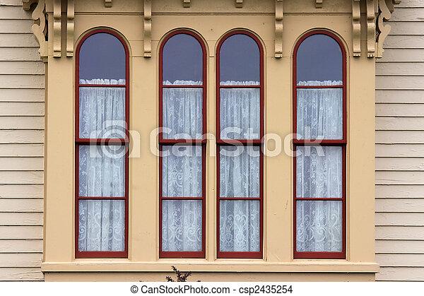 Old Window - csp2435254