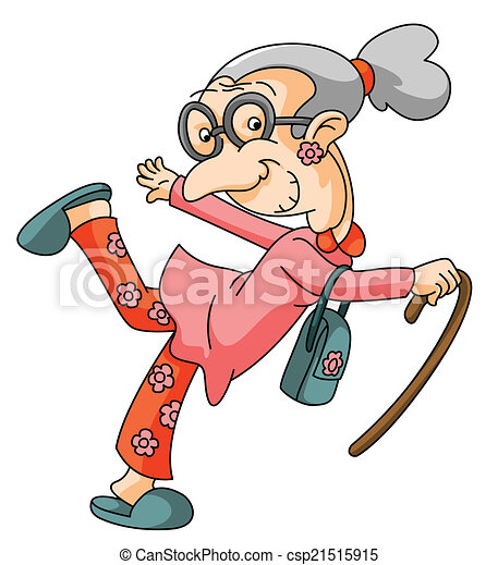 old woman rh canstockphoto com grumpy old woman clipart old woman clipart black and white