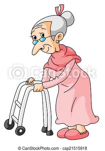 old woman rh canstockphoto com funny old woman clipart old woman clipart free