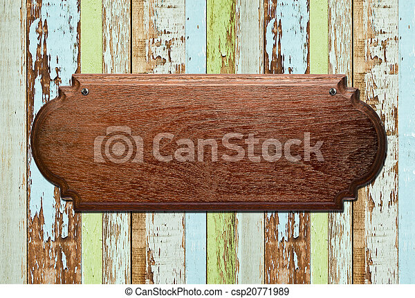 old wood background - csp20771989