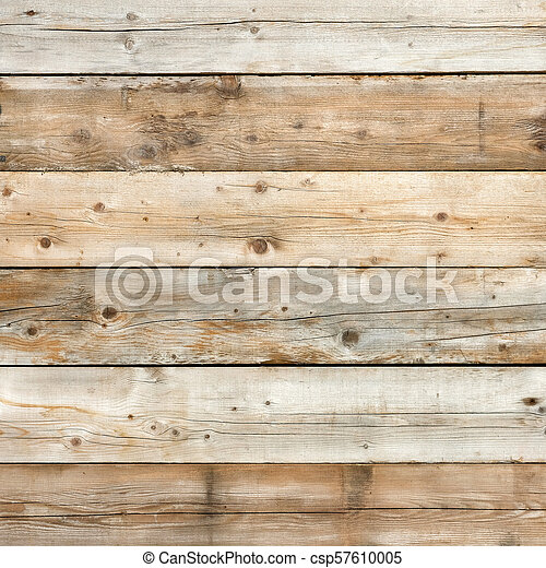 Old wood background square format - csp57610005