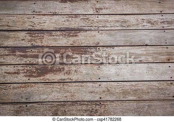 Old wood background . - csp41782268