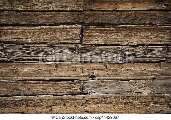 Old wood background - csp44429067