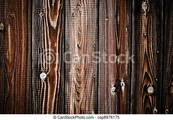 Old Wood Background - csp8976175