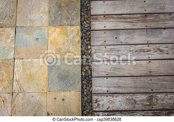 Old wood background . - csp39838628