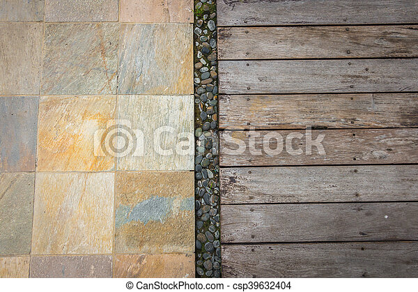 Old wood background . - csp39632404