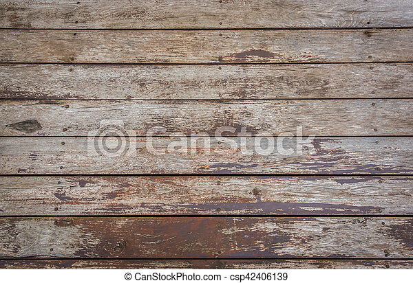 Old wood background . - csp42406139