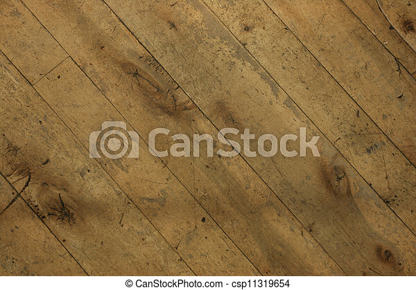 Old Wood Flooring #3 - csp11319654
