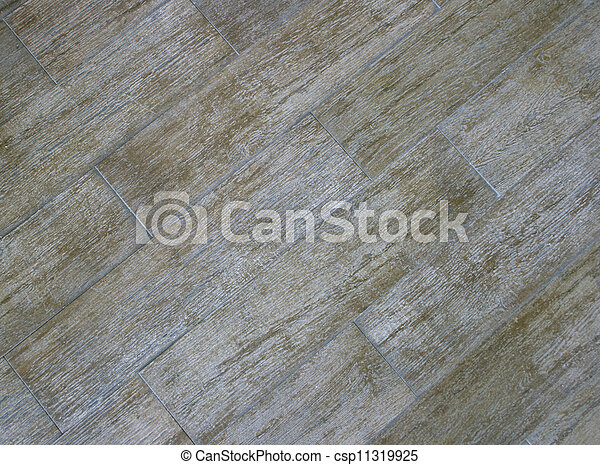 Old Wood Flooring Pattern #1 - csp11319925