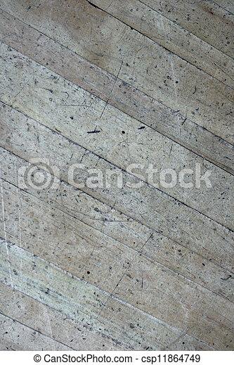 Old Wood Flooring Pattern #4 - csp11864749