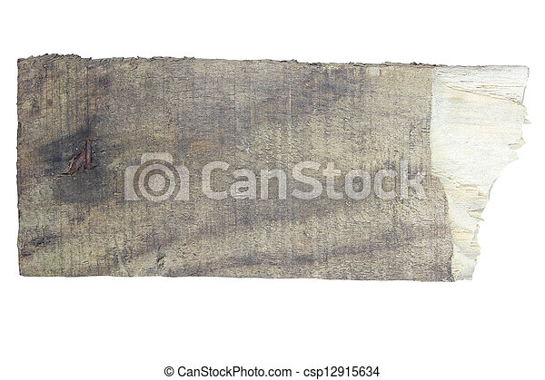Old wood sign board - csp12915634