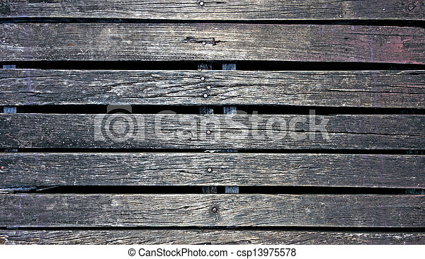 Old wood wall texture background - csp13975578