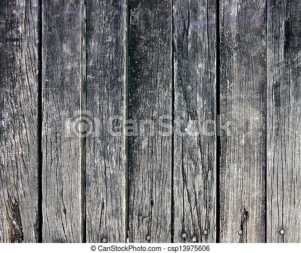 Old wood wall texture background - csp13975606