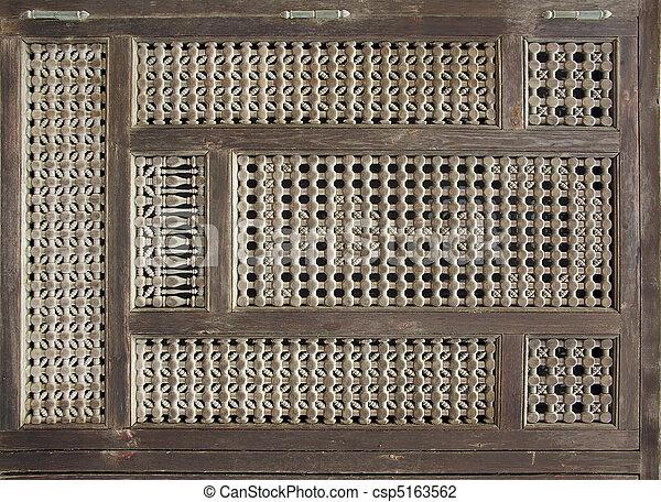Old Wood Window 2 - csp5163562