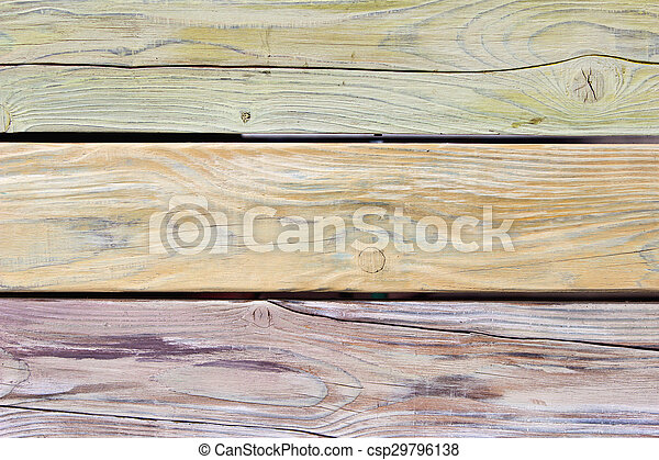 Old wooden background as texture - csp29796138