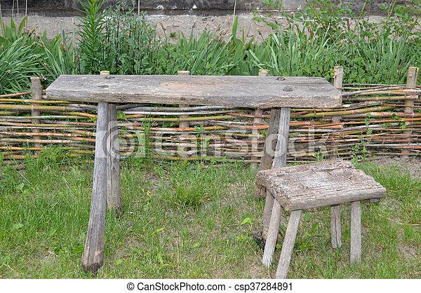 Groovy Old Wooden Bench Creativecarmelina Interior Chair Design Creativecarmelinacom