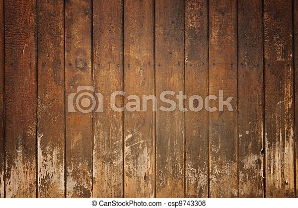 Old wooden board - csp9743308