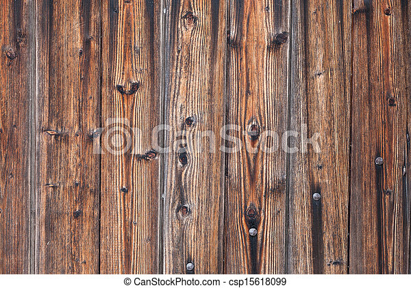 Old wooden boards as background - csp15618099