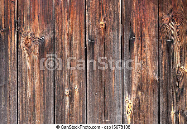 Old wooden boards as background - csp15678108