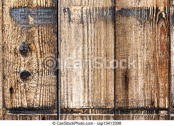 Old wooden boards. Background. - csp13413398