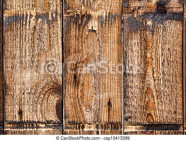 Old wooden boards. Background. - csp13413399