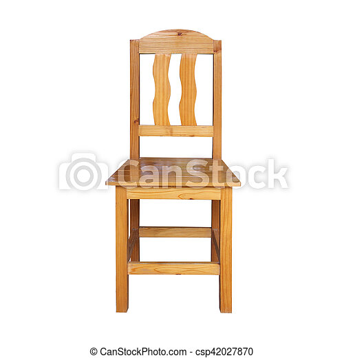old wooden chair. Beautiful Chair Old Wooden Chair On White Background  Csp42027870 With Old Wooden Chair