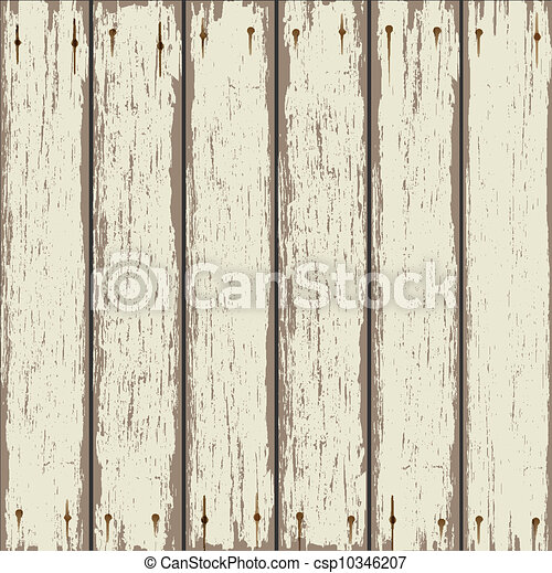 Old wooden fence - csp10346207