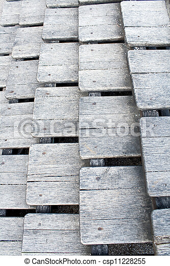 Old wooden stairs as background - csp11228255