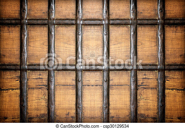 Old wooden wall texture background - csp30129534