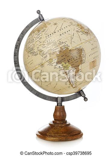 Old world globe - csp39738695